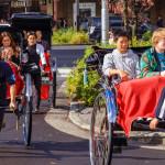 rickshaw drivers with passengers in Asukusa station_365740793