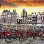 Sunset in Amsterdam_283172087
