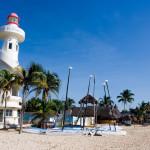 Lighthouse in Playa del Carmen, near Cancun_2236427