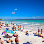 Playacar at Caribbean Sea in Mexico_358626317