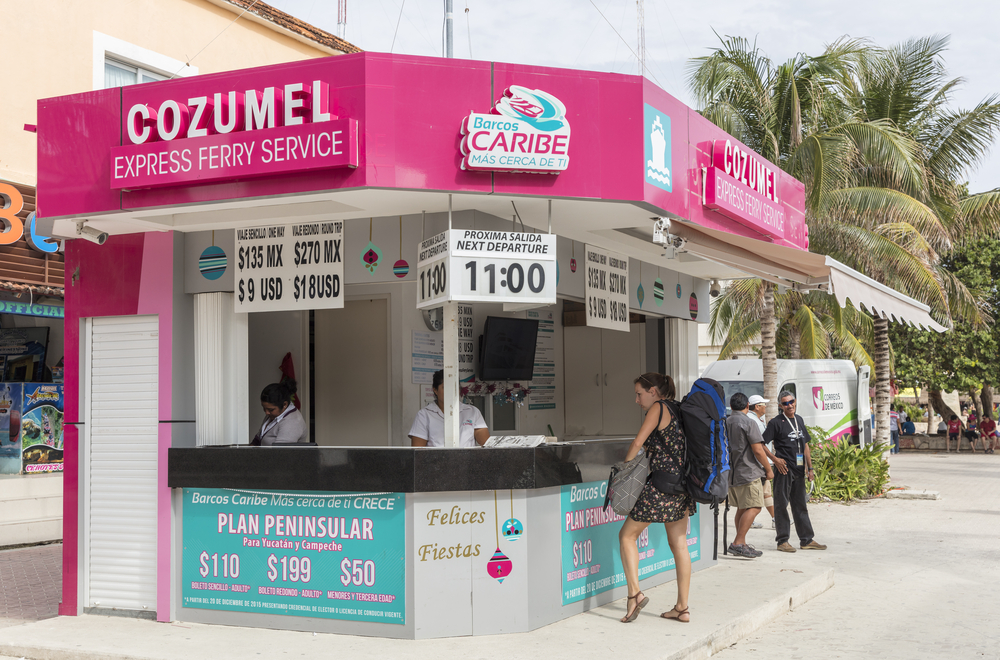 cashier office of Cozumel ferry_375219400