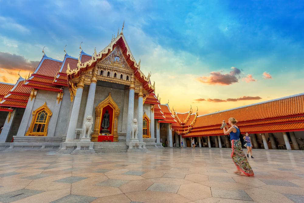 Benchamabophit Temple in Bangkok_313349762