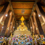 Wat Pho known also as the Temple of the Reclining Buddha_358052582