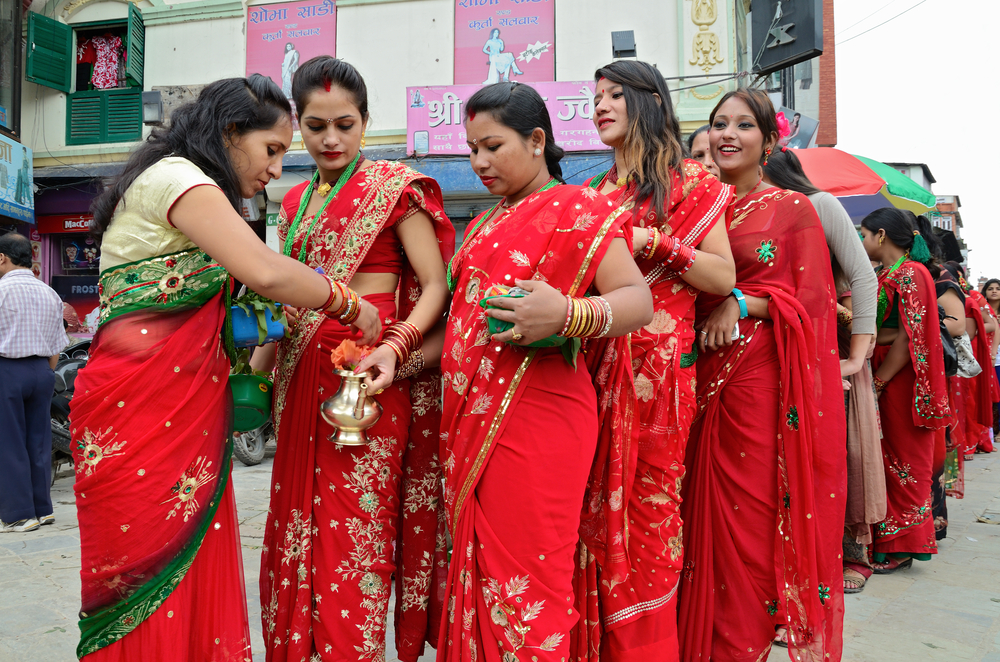 Haritalika Teej festival on the streets of Kathmandu_178652006