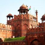 Lal Qila – Red Fort in Delhi_368378894