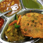 Paratha from the popular Paratha Wali Gali, Chandni Chowk in Delhi_398729092