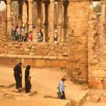 Tourists Visiting Qutb Minar Archeological Park_376903963