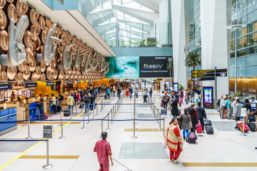 Interior of Indira Gandhi International Airport_316090844