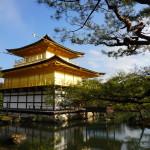 The golden shrine (golden pavilion temple) _399135580