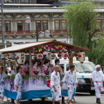 parade of hanagasa in Gion Matsuri_299585897