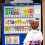 kimono using vending machine_244360681