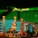 Vintage view of the Las Vegas Strip MGM_397482160