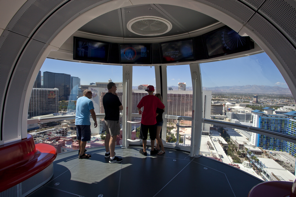 High Roller Ferris Wheel in Las Vegas_226654834