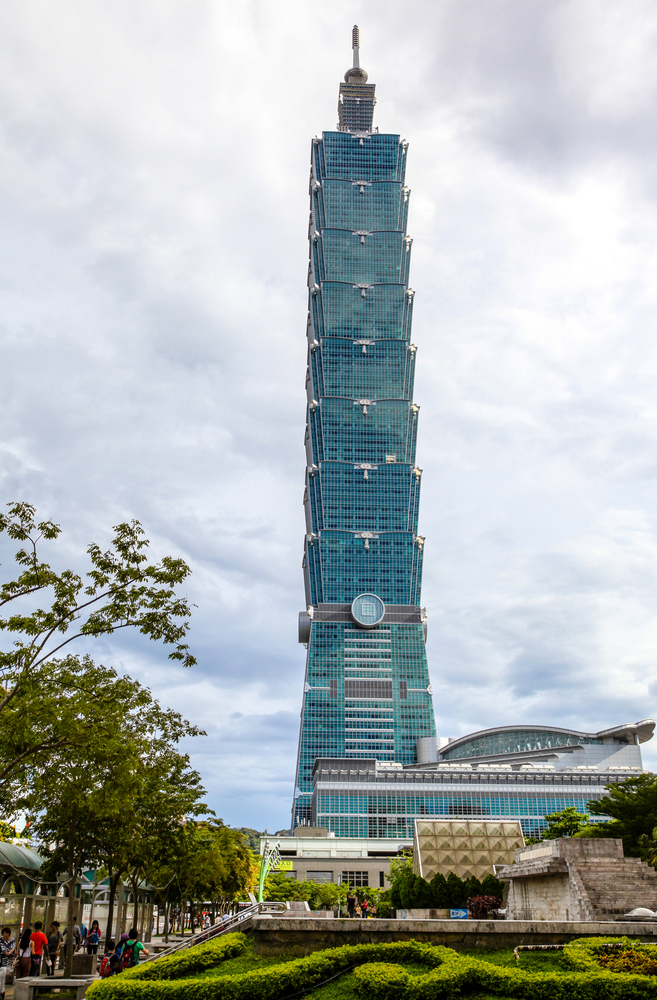 A view to Taipei 101_166155317
