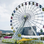 ferris wheel in The Taipei Children Amusement Park_336443669