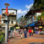 Wulai street market in Taipei_360143513
