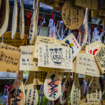 Ema praying tablets at Daisho-in temple_202969870