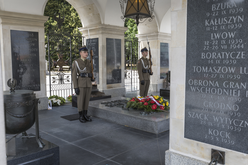 Tomb of the Unknown Soldier at Pilsudski Square_353381387