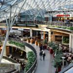 modern shopping mall Golden Terraces in Warsaw_392842387