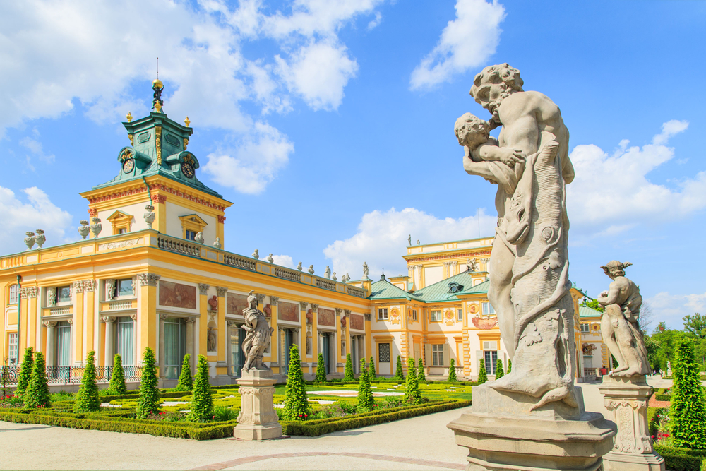 Wilanow Royal Palace, Warsaw_191125982