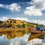 Thu Bon River in Hoi An Ancient Town_379190800