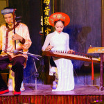 Musicians play ancient Chinese stringed instruments, Hoi An_284788118