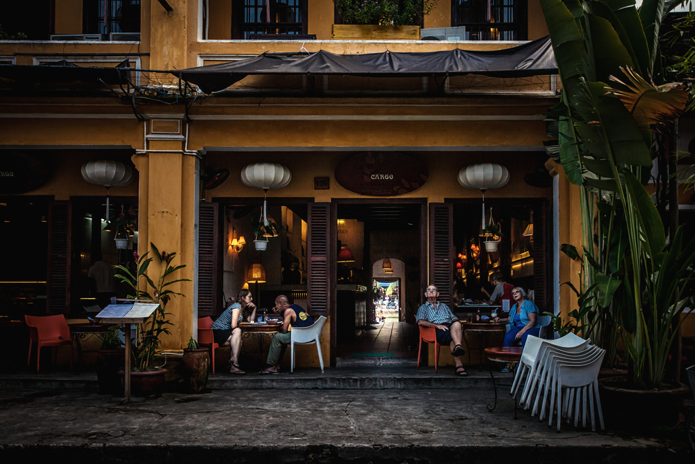 coffee cafe of Hoi An, Vietnam_346054433