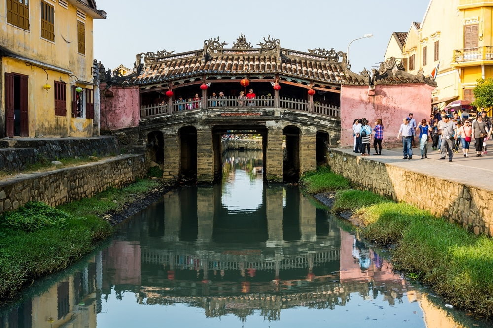 Japanese Bridge in Hoi An_297177557