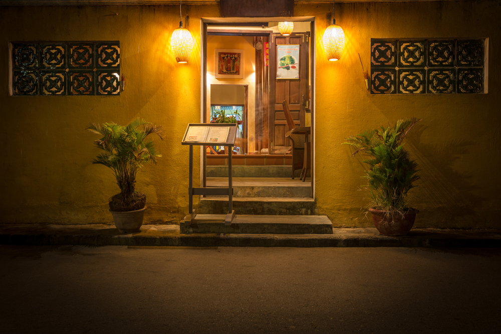 Restaurant at night in Vietnam_227293408