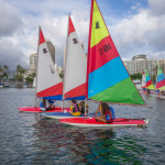 Women sailing competitors in the Hawaii State Sailing Championships_274053428