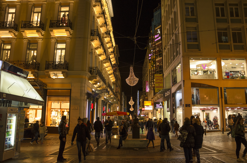 Christmas atmosphere at Ermou Street_352486307