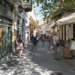 Monastiraki famous local street_317794778