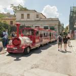 Happy train in Monastiraki street_317794811