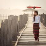 on U Bein Bridge_410502325
