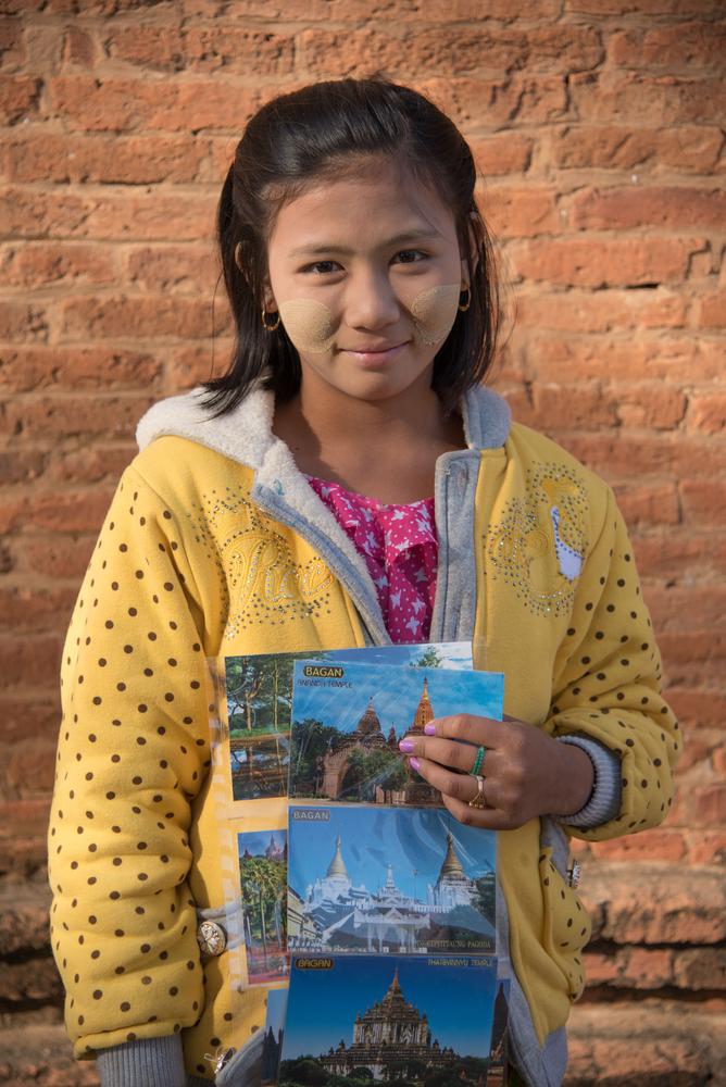 postcards in Bagan,Myanmar_244921021