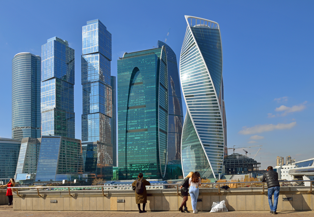 skyscrapers in Moscow_409512256