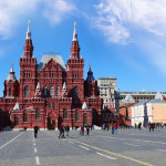 State Historical Museum on Red Square in Moscow_400779253