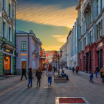 central streets of Moscow_406205959