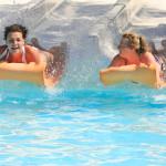 mat racer slide in Water park_259795046