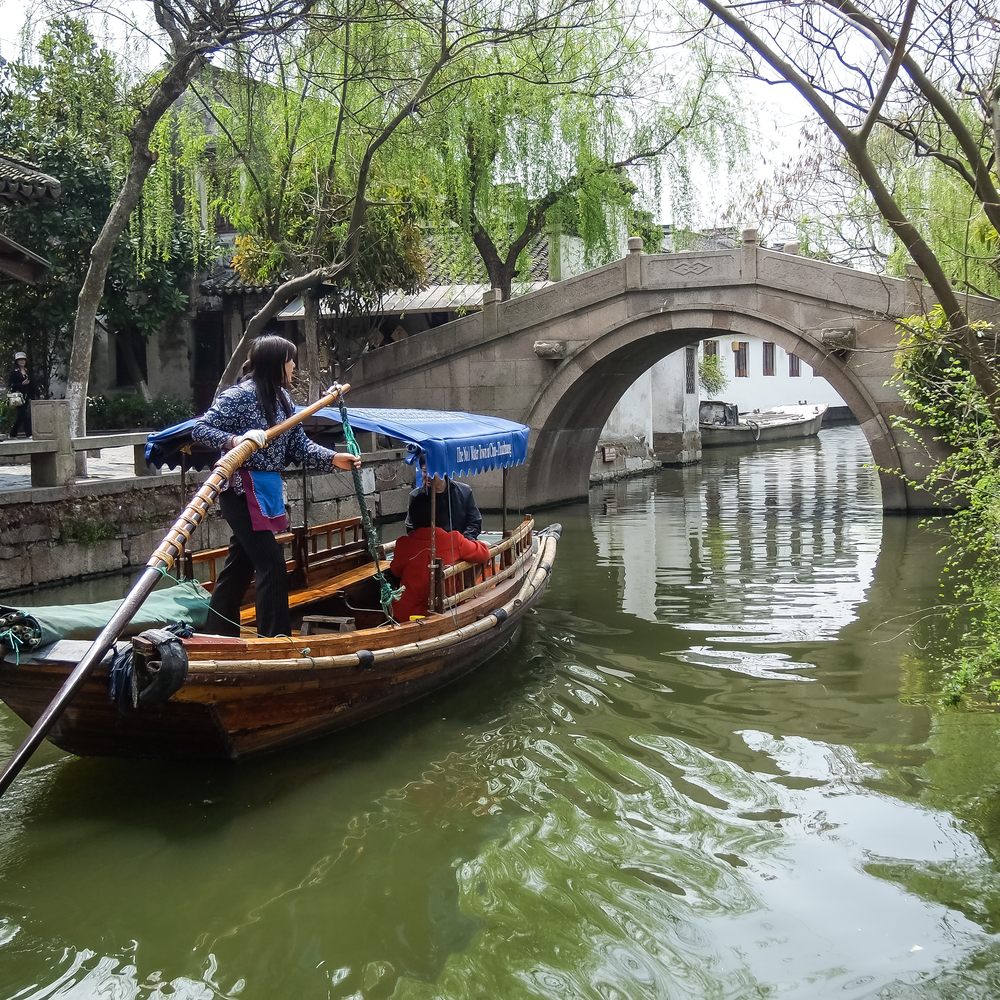 Zhouzhuang, the ancient water village_341029058