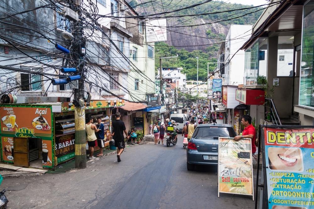 treet in favela Rocinha in Rio de Janeiro_271345745