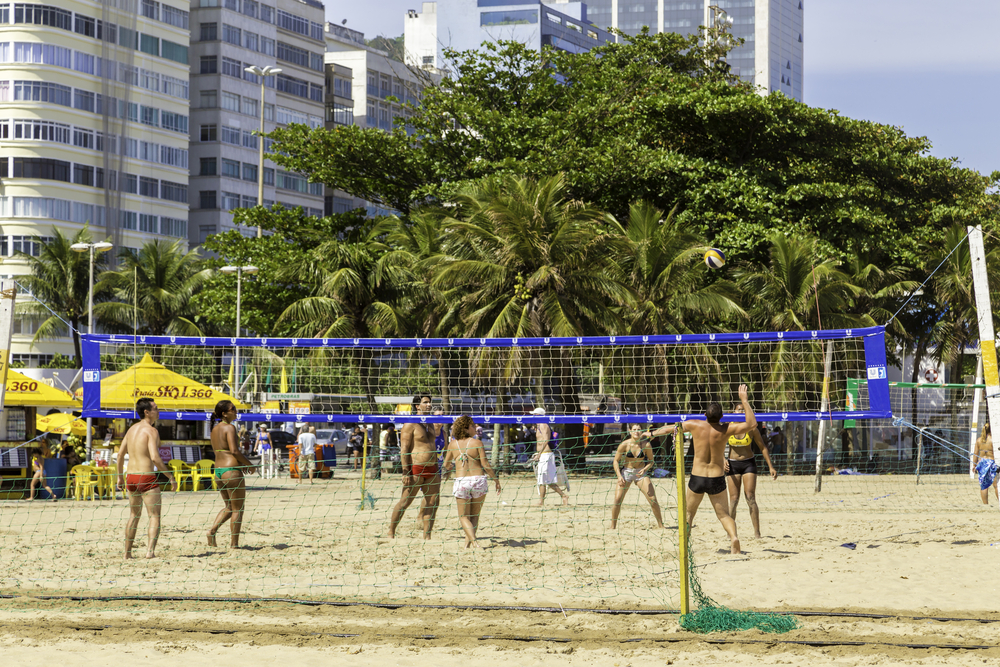volleyball in Copacabana beach_161472767
