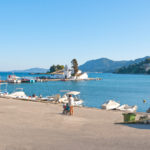 Vlacheraina monastery and Pontikonisi Island_368235311