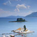 church and mouse island on Corfu_1904834