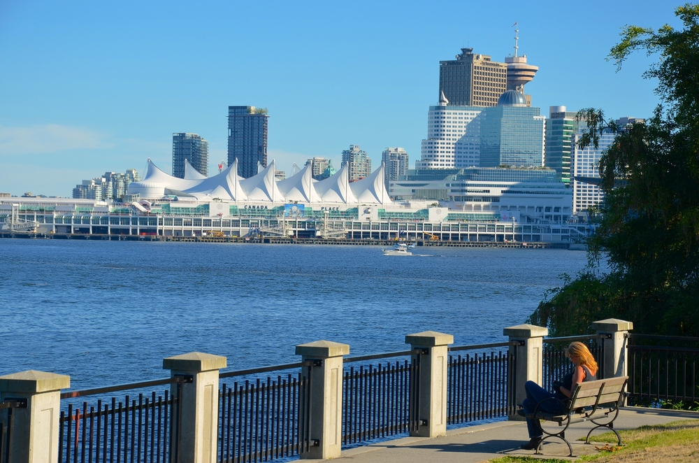 Canada Place Harbor view from Stanley Park _224887558