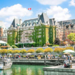 Beautiful view of Inner Harbour of Victoria_149670764