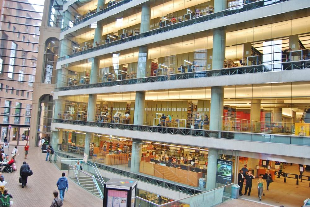 Vancouver Public Library Interior_129279779