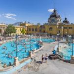 Szechenyi Baths in Budapest_407967985