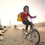 Bike ride in Budapest_345740708