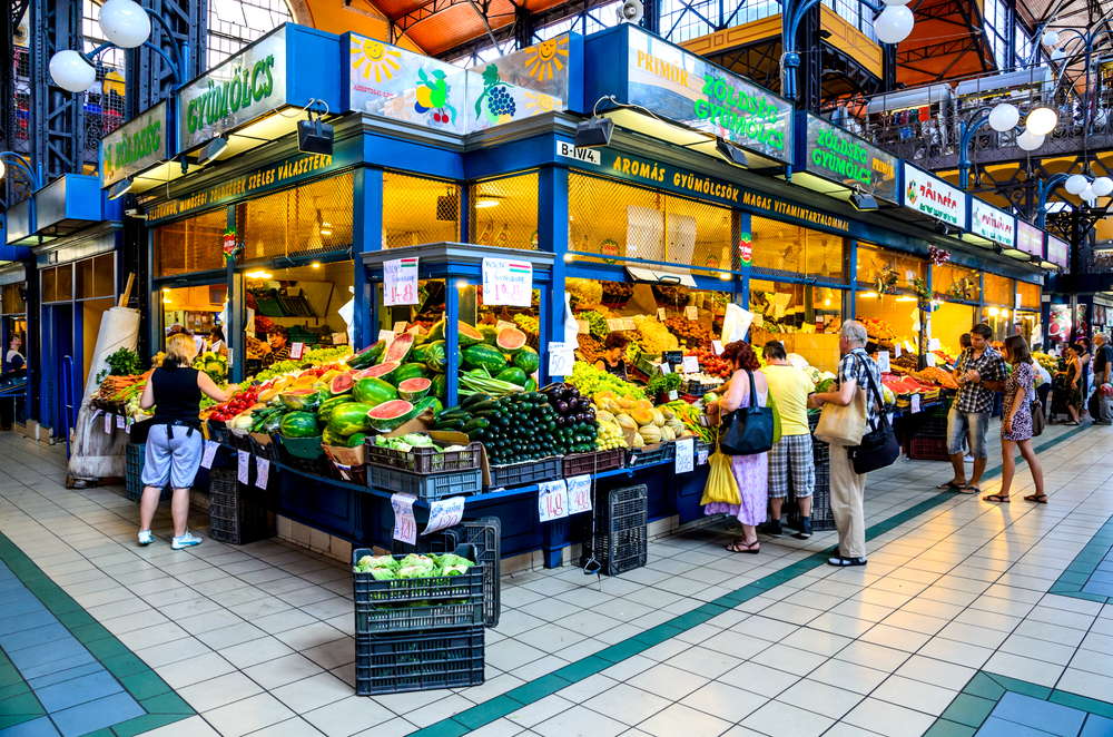 Great Market Hall in Budapest_349048964